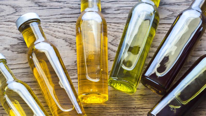 aceites para cocinar de forma saludable
