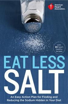 Libro de cocina Eat Less Salt