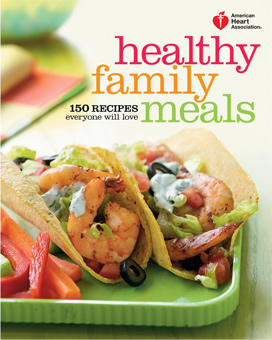 Libro de cocina Healthy Family Meals