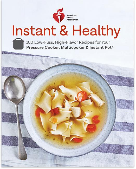 Portada del libro de cocina Instant & Healthy