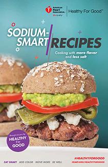 Portada del libro de cocina Sodium Smarts