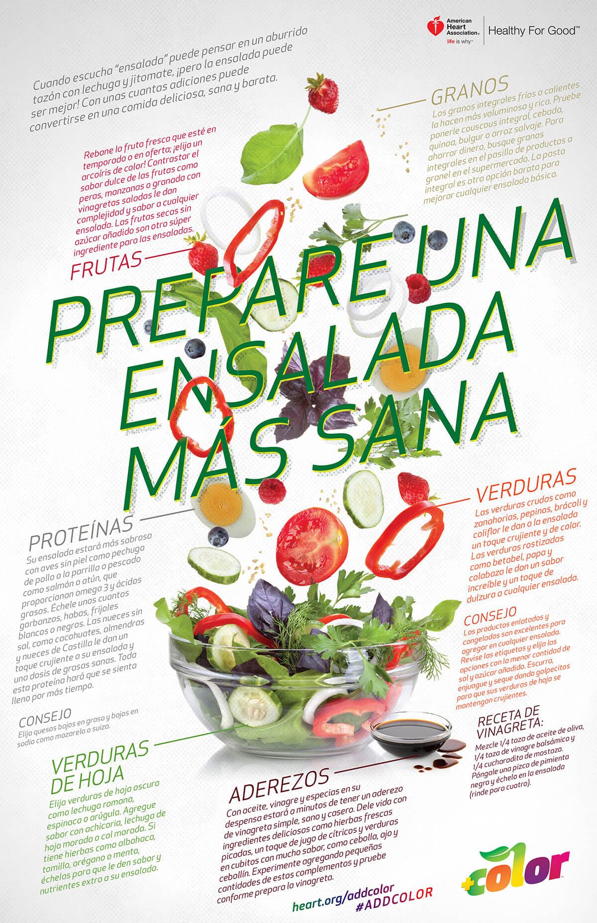 Prepare una ensalada más sana