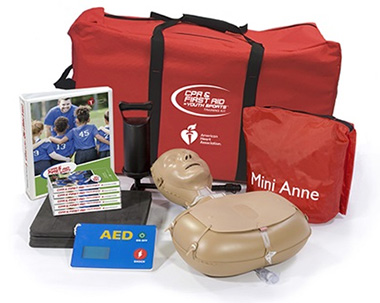 CPR and First Aid in Youth Sports training kit
