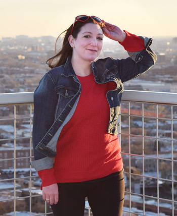 Jessica Cowin, mujer real de Go Red For Women