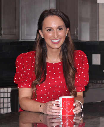 Leah Riegert, mujer real de Go Red For Women