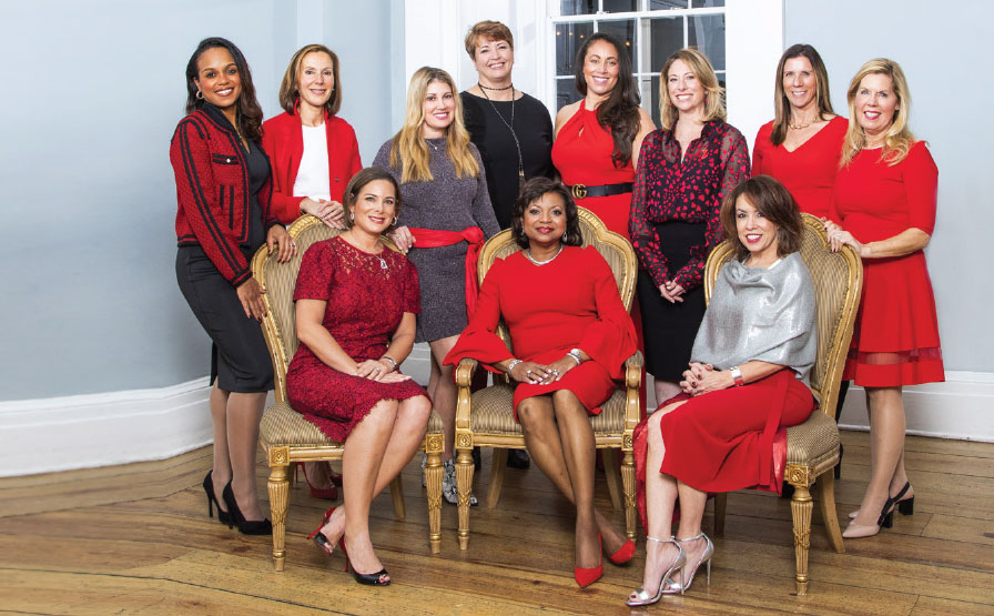 Grupo de miembros de Circle of Red 2019