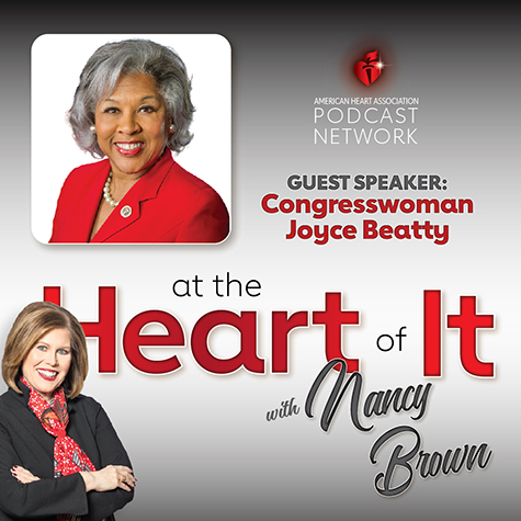 Photo Promo - At the Heart of It with Nancy Brown Guest Congresswoman Joyce Beatty