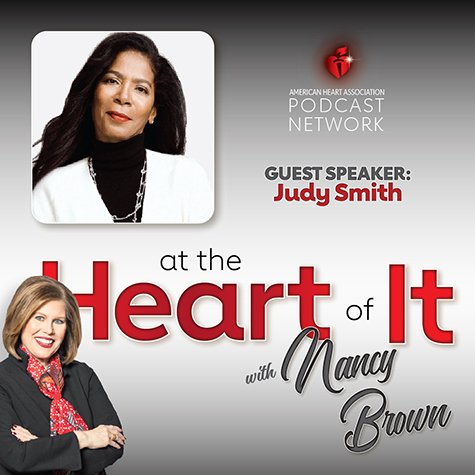 Photo Promo - At the Heart of It with Nancy Brown Guest Judy Smith