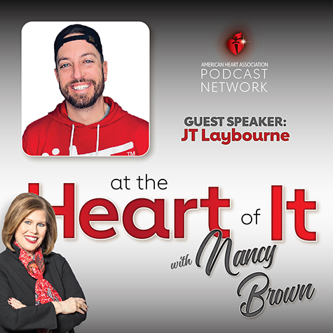 Photo Promo - At the Heart of It with Nancy Brown Guest JT Laybourne