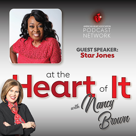 Photo Promo - At the Heart of It with Nancy Brown Guest Star Jones
