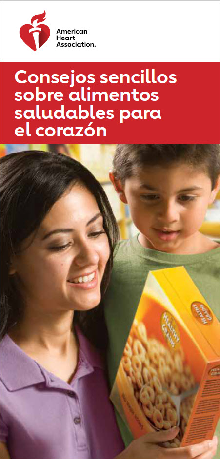 Mom and son reading cereal box_50-1620