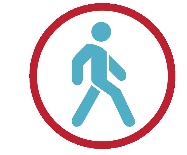 ícono de movimiento
