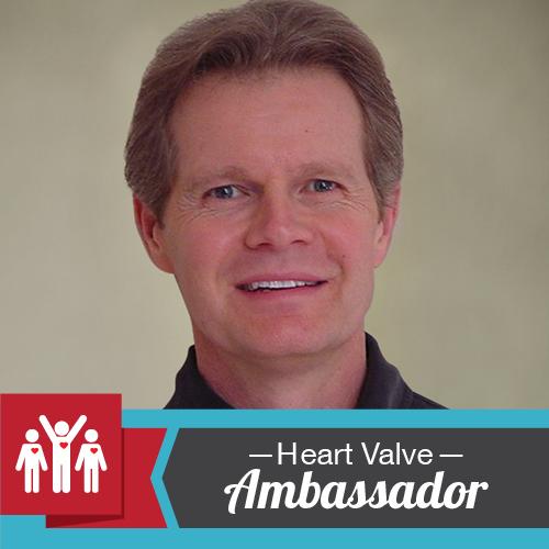 Mark Ridder, insignia de Heart Valve Ambassador