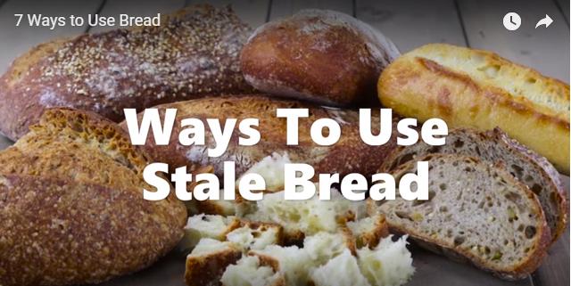 Siete maneras de utilizar el pan duro