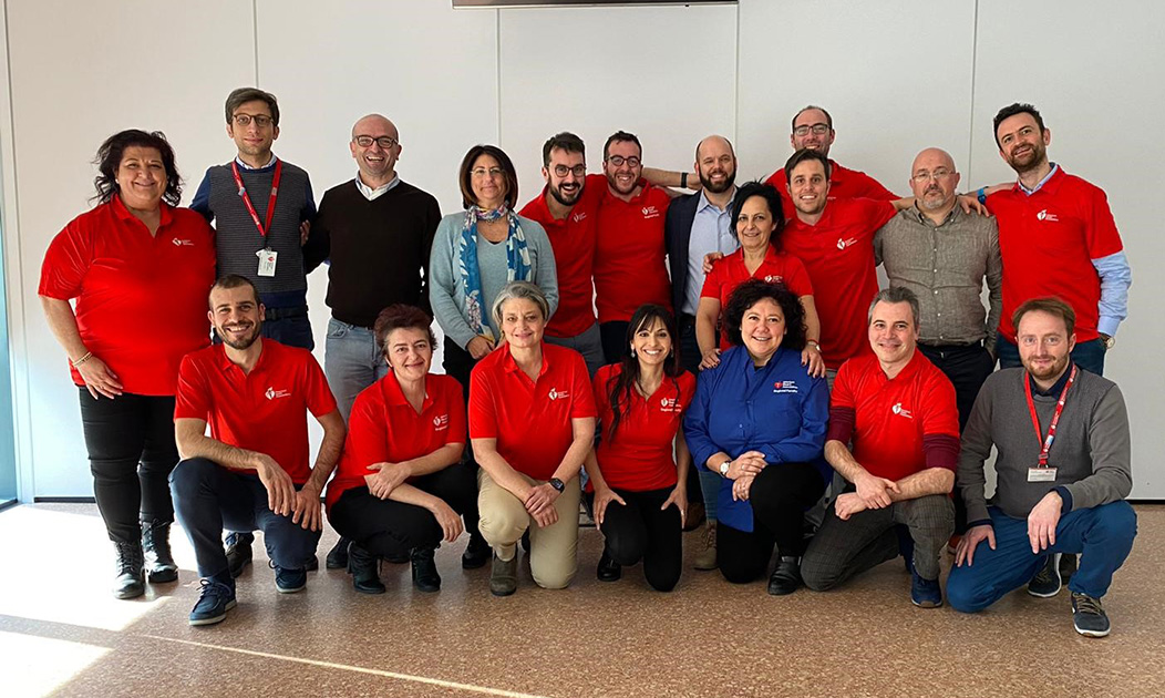 Group photo at the Regional Faculty meeting in Milan on February 8th, 2020