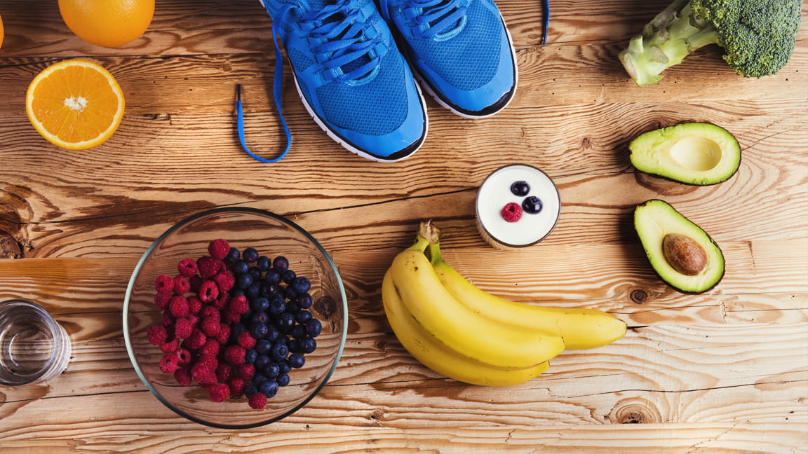 food as fuel, food for a workout