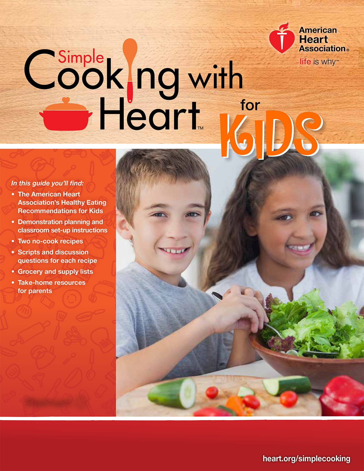 Portada de Simple Cooking with Heart for Kids