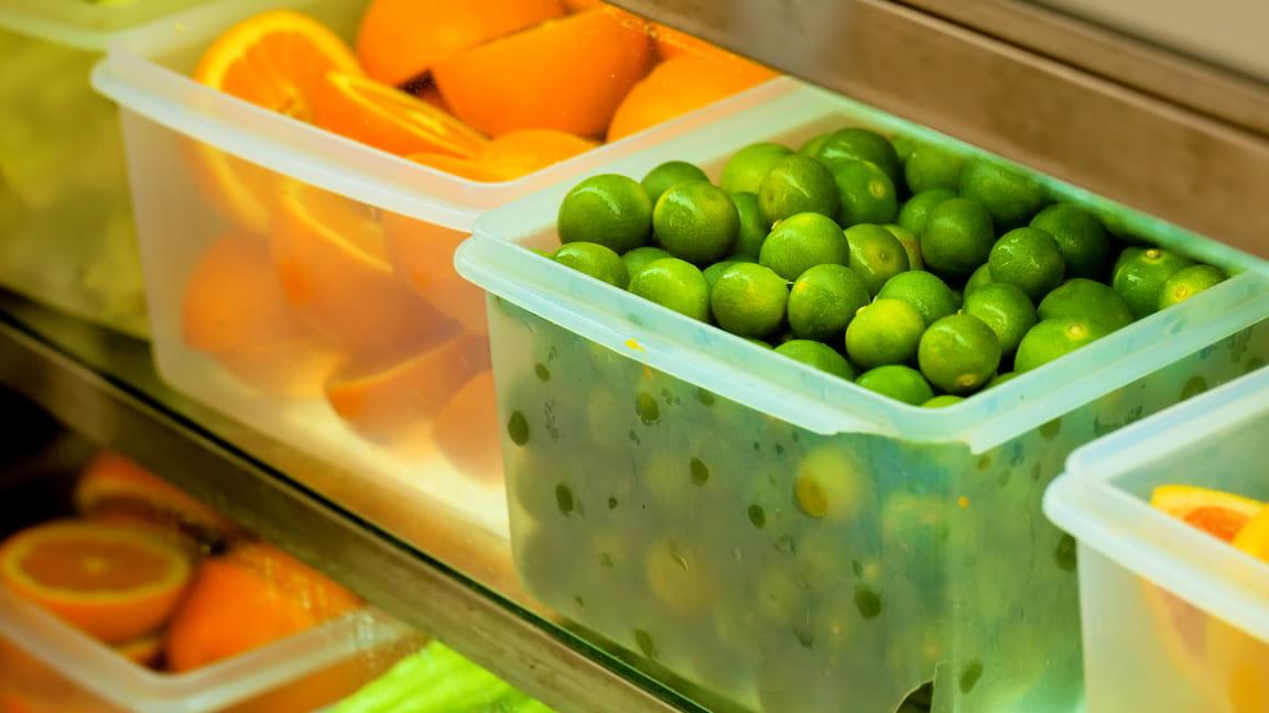 Conserve frescas las frutas y verduras durante más tiempo