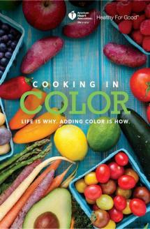 Portada del libro de cocina Cooking in Color