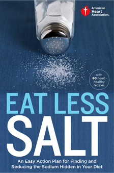 Libro de cocina Eat Less Salt