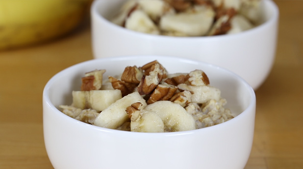 Overnight No Cook Banana Oatmeal