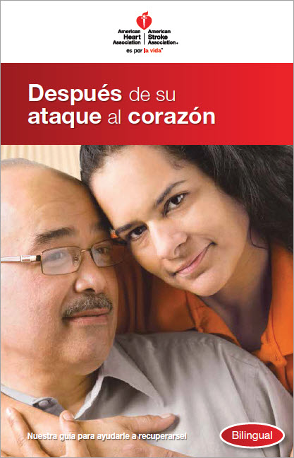 After Your Heart Attack Spanish brochure cover
