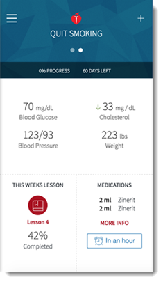 My Cardiac Coach app screenshot