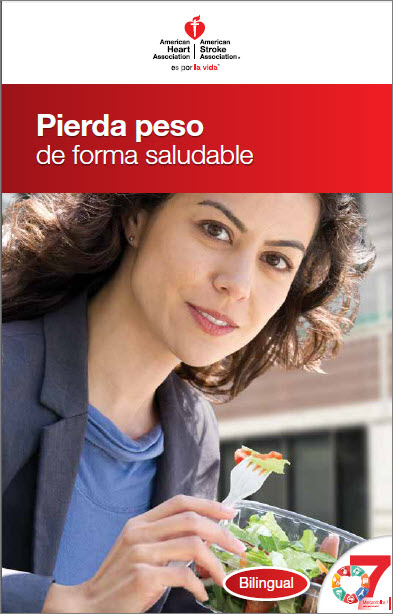 Portada de Losing Weight the Healthy Way (Pierda peso de forma saludable) (folleto en español)