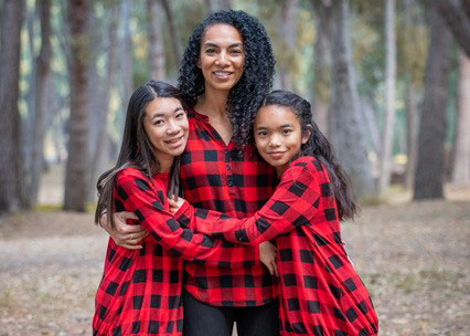 Real Woman 2021 Lindsey Huie and kids
