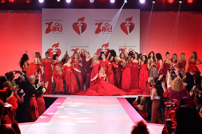 Go Red for Women 2020 Red Dress Collection Runway
