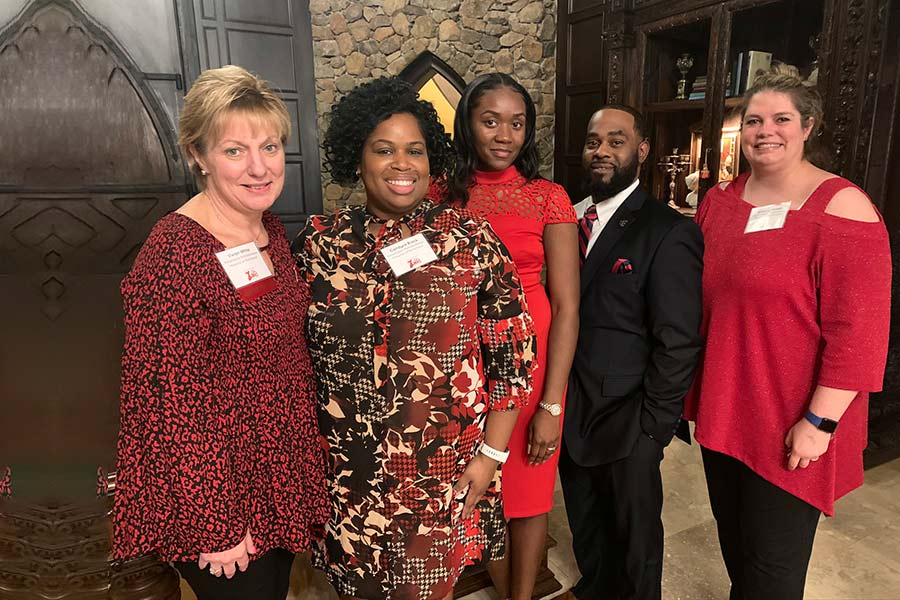 group of Go Red for Women donors and volunteers