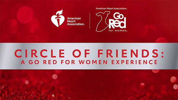 Go Red for Women Circle of Friends event