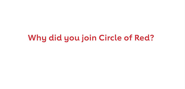 Why I'm Proud to Be a Circle of Red Member