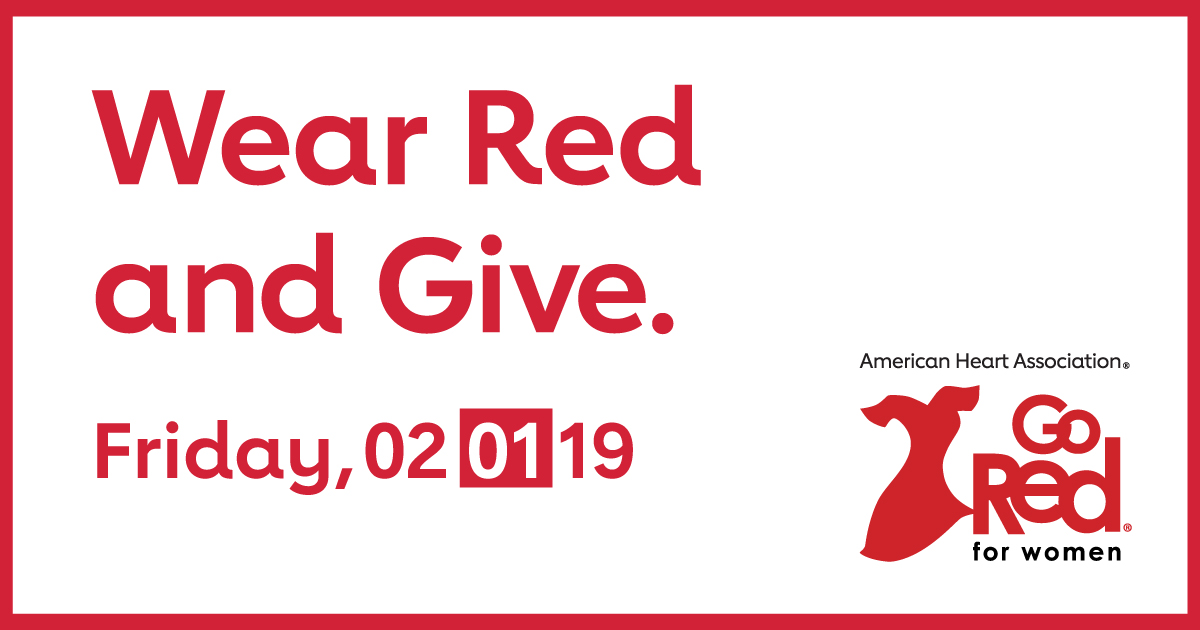 Wear Red And Give Go Red For Women