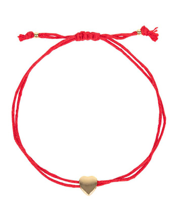 Heart String Bracelet from the American Heart Association Shop Heart