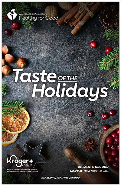 Recetario Taste of the Holidays