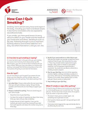 Answers by Heart Quit Smoking