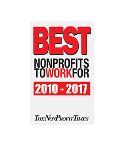 Logotipo de Best Nonprofits to Work 2010-2017