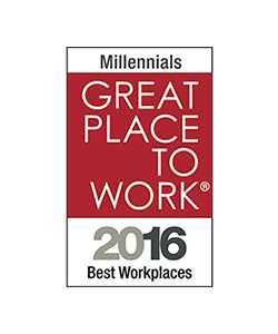 Great Place to Work 2016 Millennials