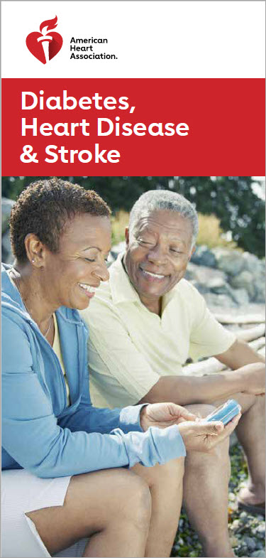 Diabetes HD and Stroke brochure cover