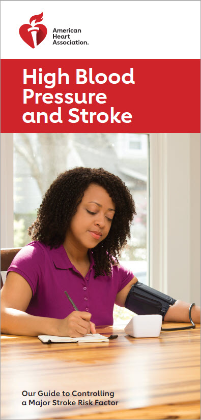 HBP and Stroke brochure cover