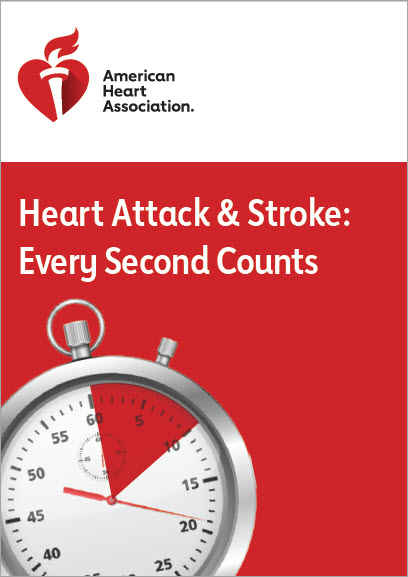 Heart attack and stroke every second counts cover