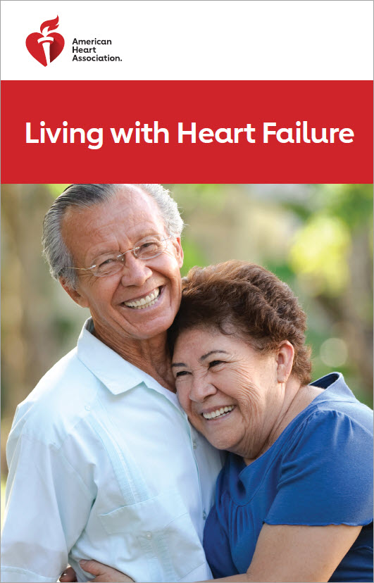 Living with Heart Failure brochure cover