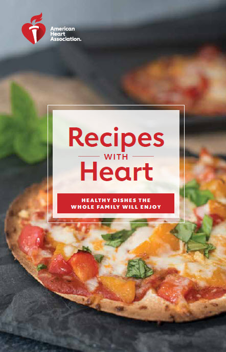 Recipes with Heart booklet cover