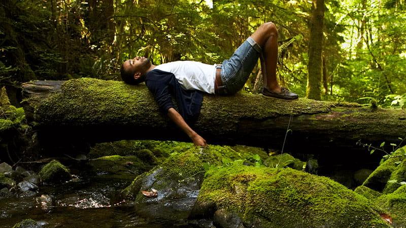 Relajación en la naturaleza
