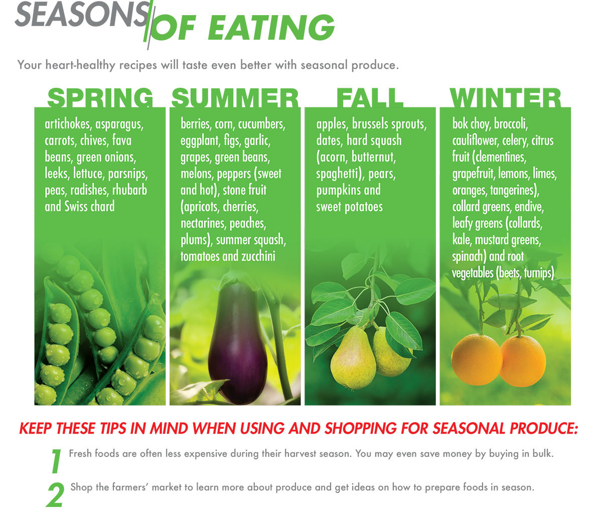 Seasons of Eating Infographic cropped