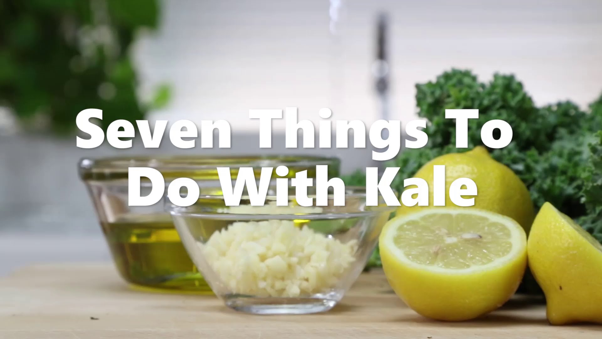 7 Things to do with Kale Video screenshot