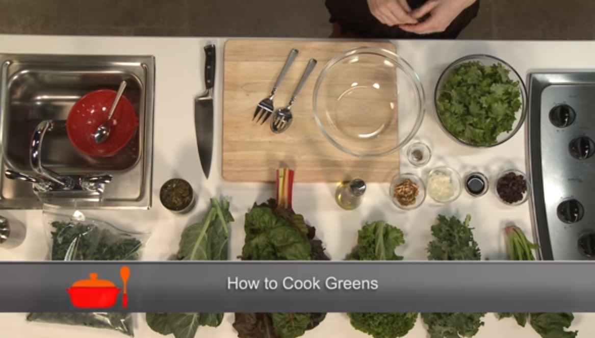The American Heart Association's Simple Cooking with Heart program teaches you how to cook heart-healthy greens
