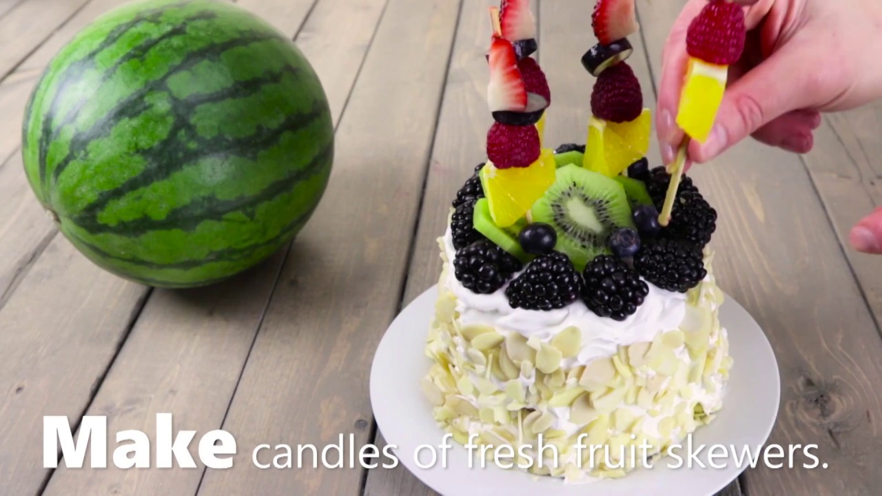 How to Make Watermelon Cake Video screenshot