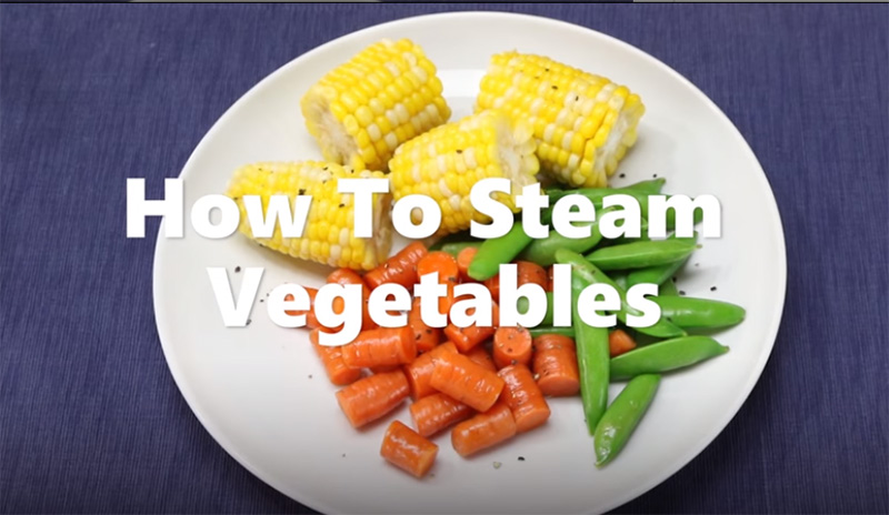 How to Steam Vegetables Video